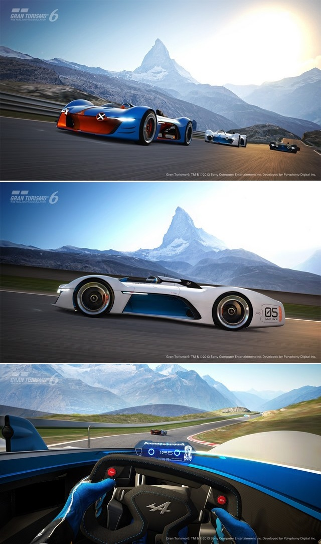 Le film « Alpine Vision Gran Turismo – Inspirations » 84286565282161