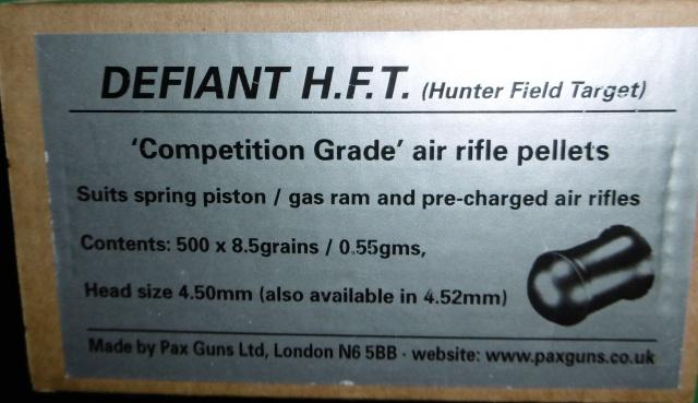 Tests plombs avec carabine Weihrauch HW50S 844080P1000099