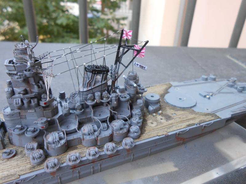 Yamato 1/700 fuji, PE,Pont en bois et babioles - Page 4 844932DSCN6175
