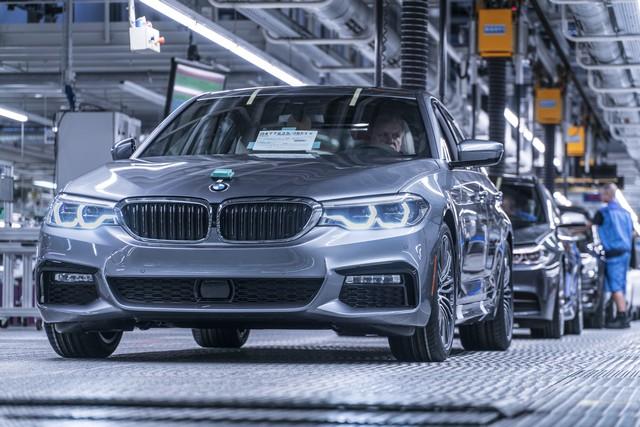 La nouvelle BMW Série 5 Berline. Plus légère, plus dynamique, plus sobre et entièrement interconnectée 845845P90237943highResbmwgroupplantding