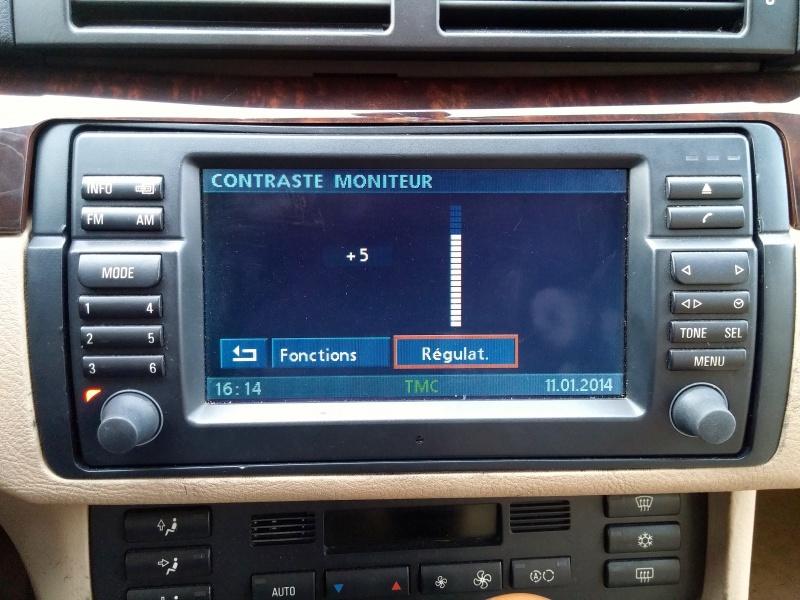 [TUTO toutes BMW jusqu'à 2003] Les menus du GPS mk4 (notions 847132Rglageducontrastedumoniteur