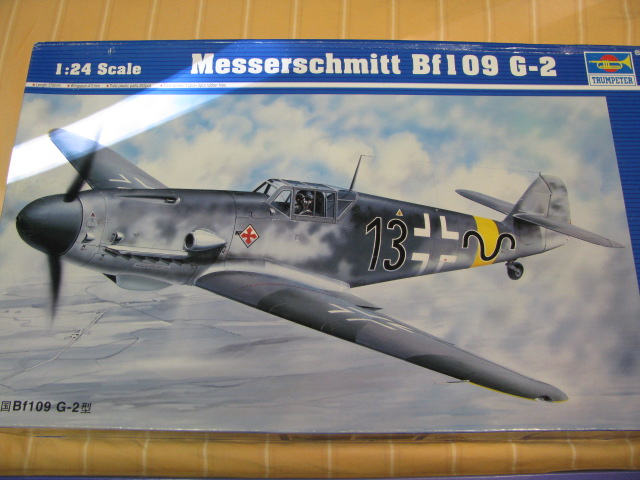 Bf-109 F-4 Trumpetter 1/24 847171IMG7600