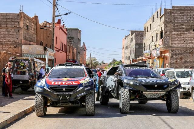 Team Peugeot Total : Rallye du maroc / ETAPE 1 : Boucle de Zagora 8478345612d4ef35973