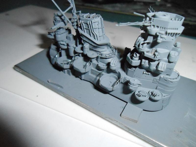 Yamato 1/700 fuji, PE,Pont en bois et babioles - Page 3 847851DSCN5412