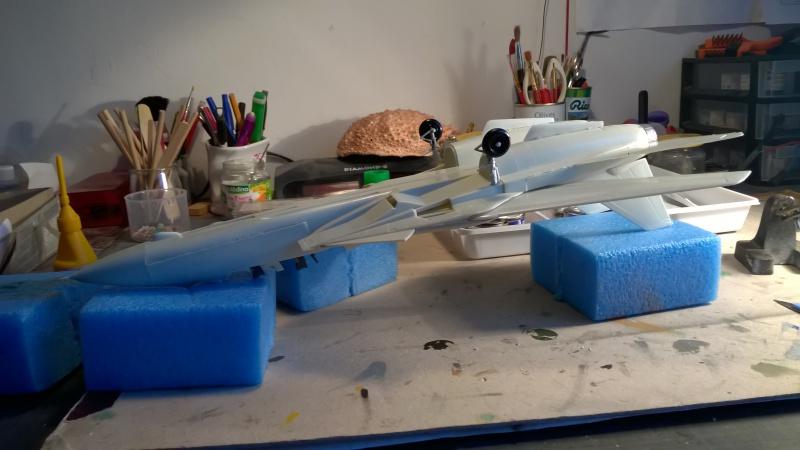"Grumman Tomcat F14A ""TOMCAT"" Revell au 1/48 boite 1986* 848239WP20161018001"