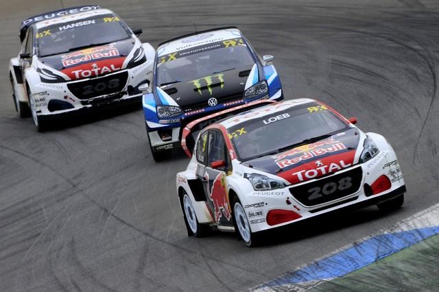 Rallycross - Les PEUGEOT 208 WRX dans le match, Timmy Hansen sur le podium à Hockenheim 850016590e131fd6ae2
