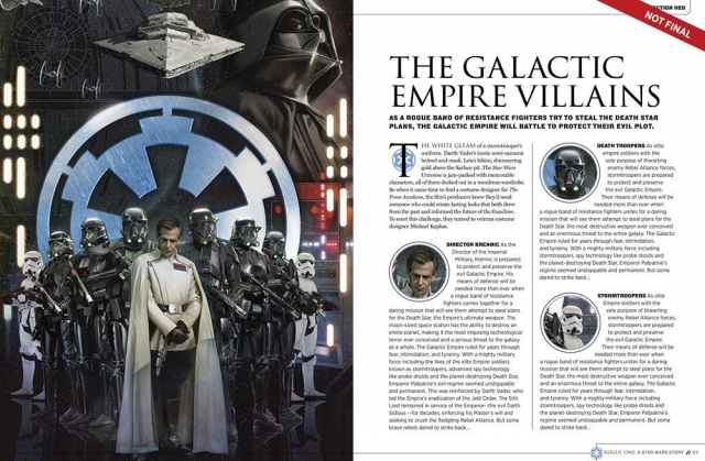 Rogue One : A Star Wars Story [Lucasfilm - 2016] - Page 4 850529w124