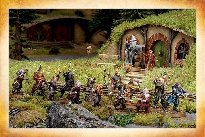 Le Hobbit : le Voyage inattendu, le Jeu de Bataille 851085TheHobbitGang