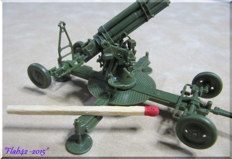 Canon anti-aérien Soviétique de 85mm - Zvezda - 1/72ème 851408893
