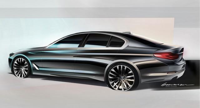 La nouvelle BMW Série 5 Berline. Plus légère, plus dynamique, plus sobre et entièrement interconnectée 852727P90238846highResthenewbmw5series