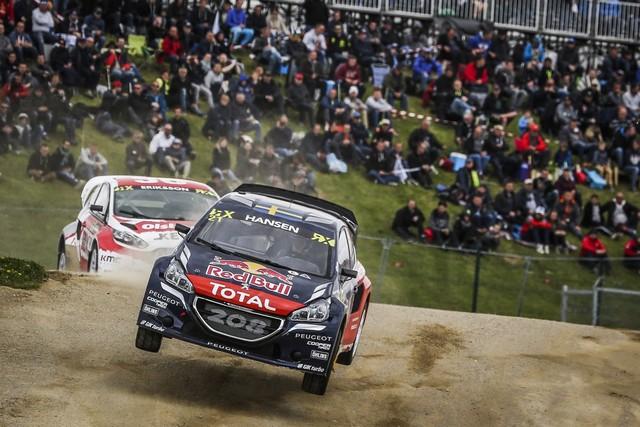 Rallycross - Belle deuxième place de Sébastien Loeb sur la PEUGEOT 208 WRX 852901HR8A4428