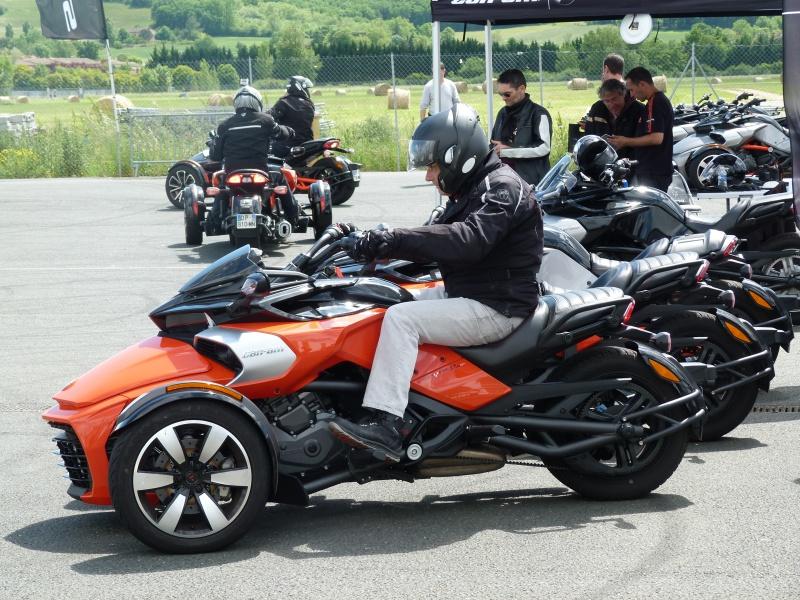 CR & Photos : TSO 17/05/15 : Essai du Can Am SPYDER F3-S et du RT-Limited 853878P1170702