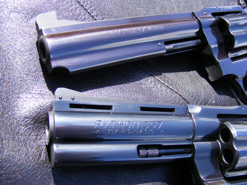 Le duel Colt Python VS Manurhin MR73 8544905104