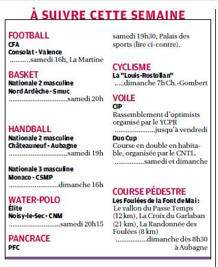 SPORTS DES CLUBS DE  MARSEILLE OU DE SA PERIPHERIE ........... - Page 2 854762493