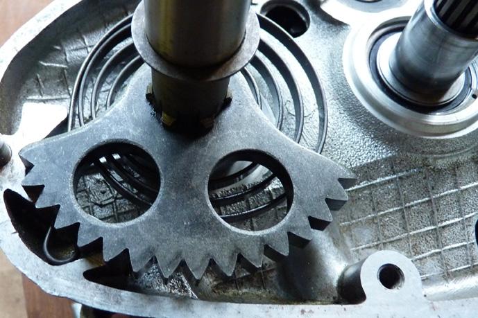 remontage d'un bas moteur d'une 125 TS 854828P1060224