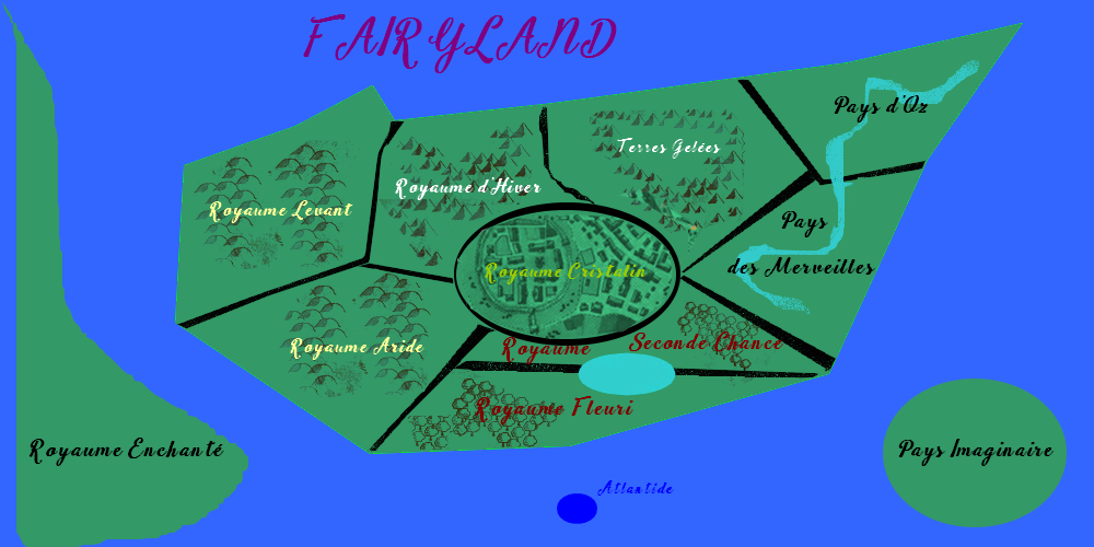 The world of fairy tales  858128Cartefayri