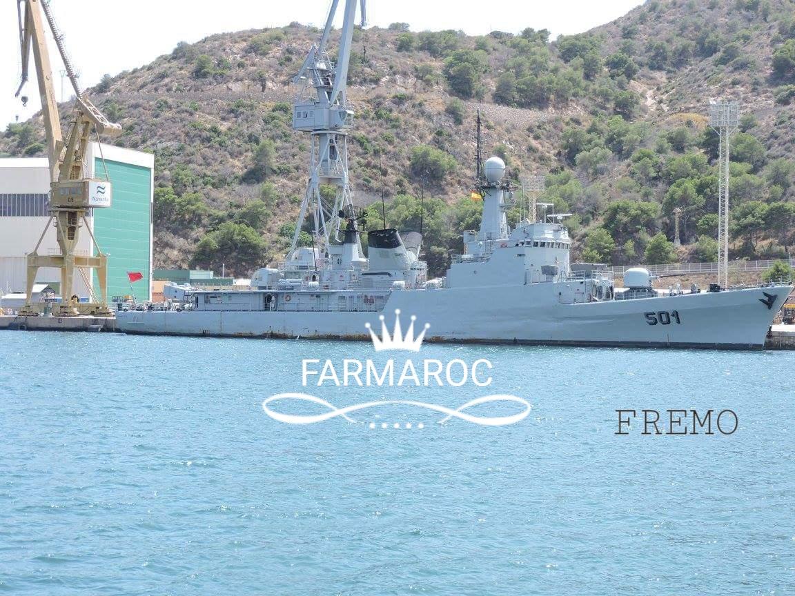 Royal Moroccan Navy Descubierta Frigate / Patrouilleur Océanique Lt Cl Errahmani - Bâtiment École - Page 3 85823420180104105251