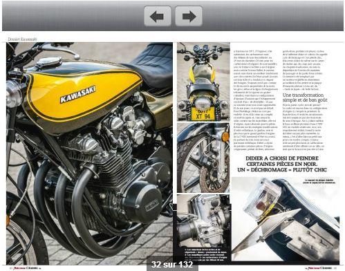 Moto revue Classic;Kawa Z 900 superbike réplica.... 85932489Z