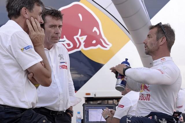 Team Peugeot Total : Rallye du maroc / ETAPE 1 : Boucle de Zagora 85942305315002019