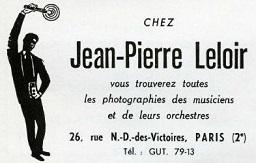 L'Experience à Paris et à la télé française : Entre le 9 et le 12 octobre 1967 859737JazzHott1958Leloir