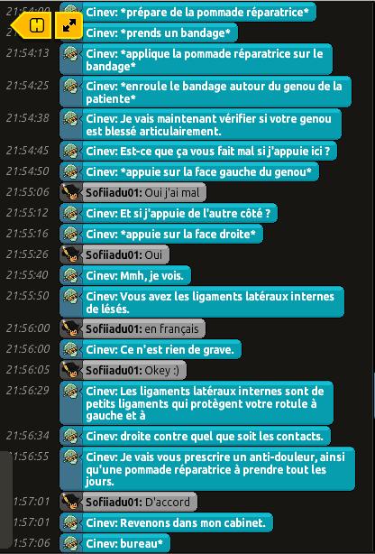 [C.H.U] Rapports d'actions RP de Cinev 8606073123
