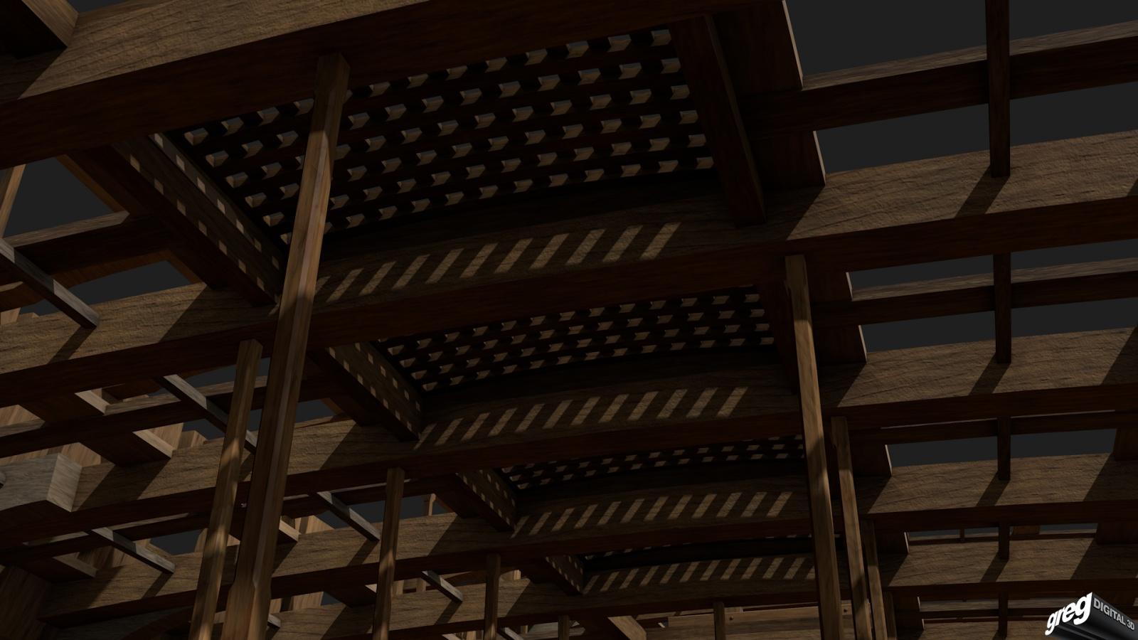 Vaisseau 74 canons Lucide (Création 3D) de Greg_3D - Page 3 861025Squelettecaillebotis5