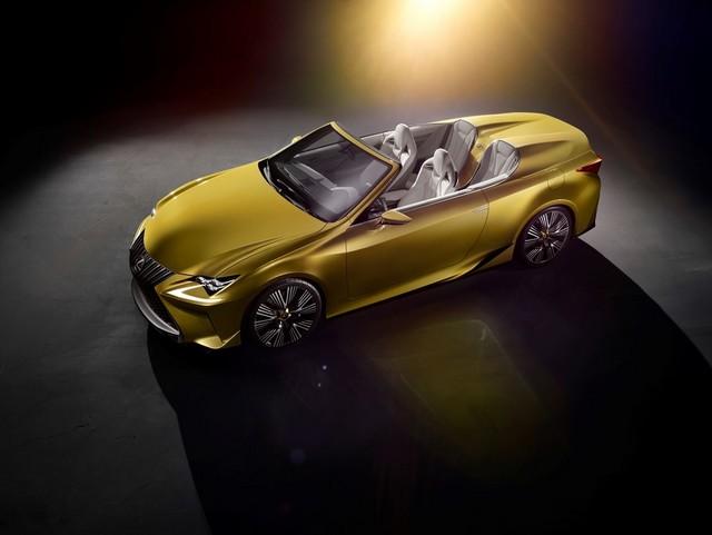 Le Concept Lexus LF-C2 Brille Sous Les Projecteurs Du Salon De Los Angeles 862452LFC2dHighProfilelow