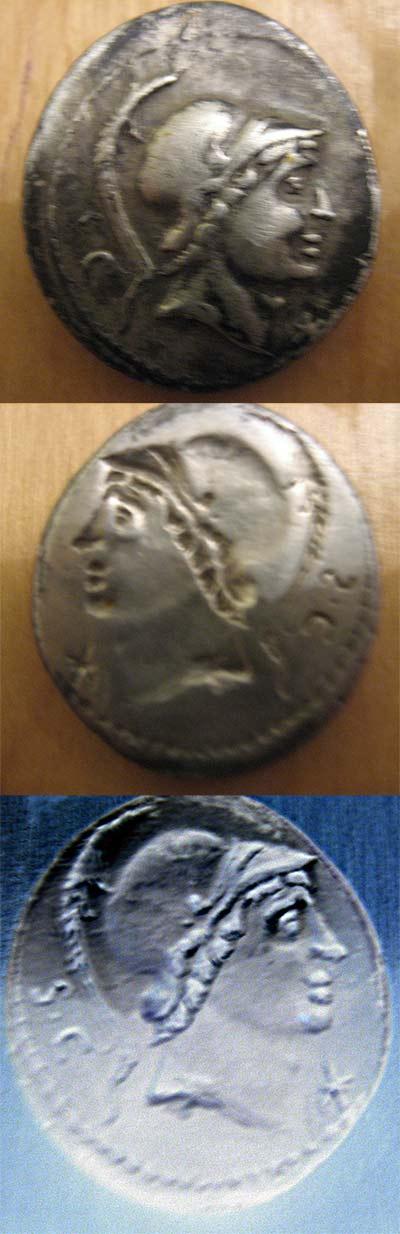 Denier incus République Lucius Rustius 862980incus