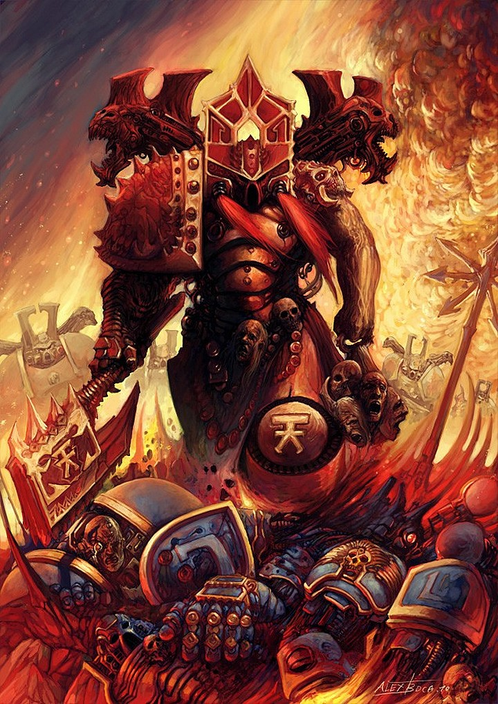 [W40K] Collection d'images : Space Marines du Chaos 864279ChaosRising7