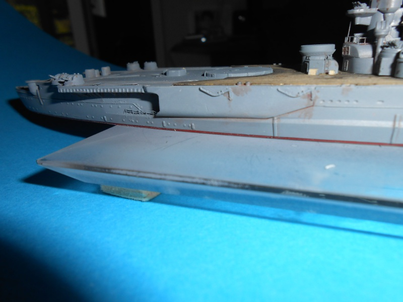 Yamato 1/700 fuji, PE,Pont en bois et babioles - Page 3 866382DSCN6122