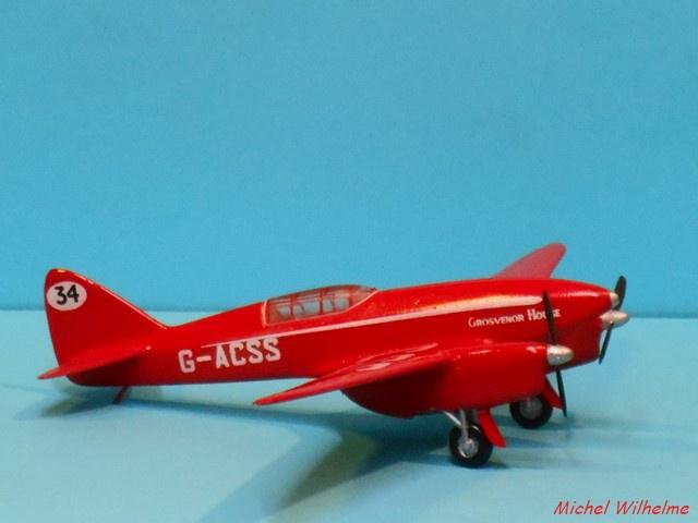 DE HAVILLAND D H88 kit Airfix 1959 866695DSCN9420Copier