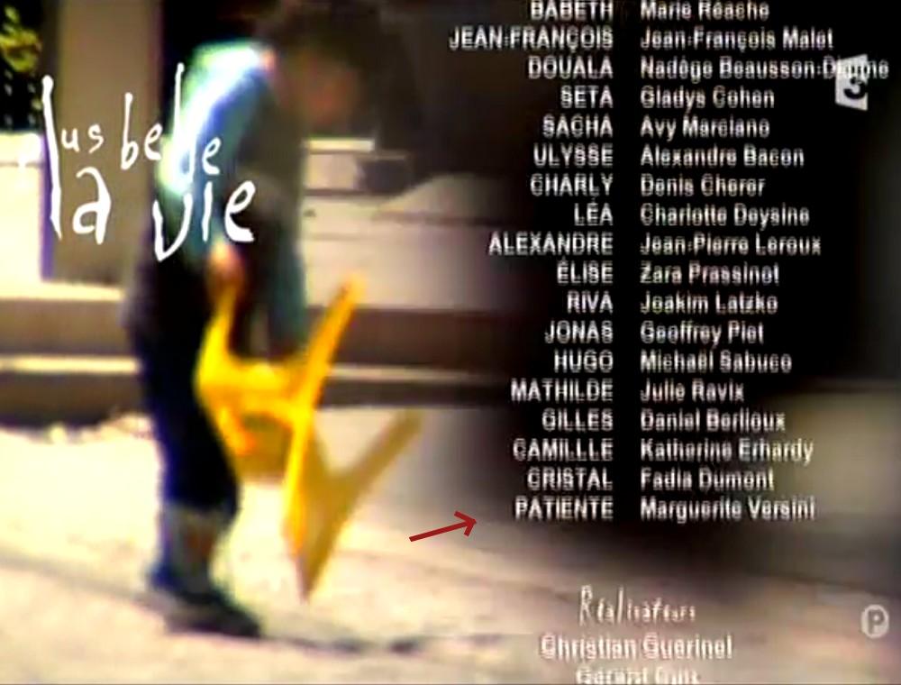 Les acteurs qui ont joué plusieurs rôles dans le feuilleton 866986margueriteversini