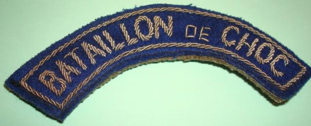 LES INSIGNES DU BATAILLON DE CHOC 1943/1963. 867173LEBRUN1