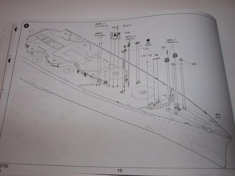 Bismark 1:200 trumpeter 867446046Copier
