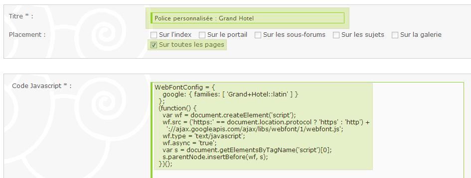 Utiliser des polices personnalisées avec Google Web Fonts 868198Sanstitre10