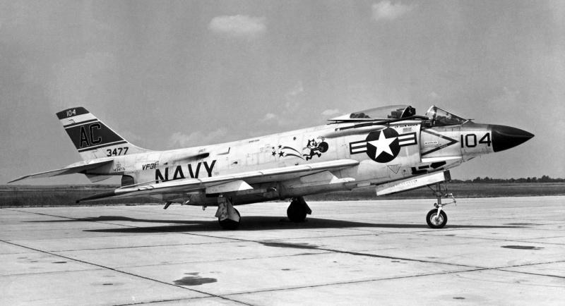 VOUGHT F-8 CRUSADER  870031McDonnellF3H2Demon