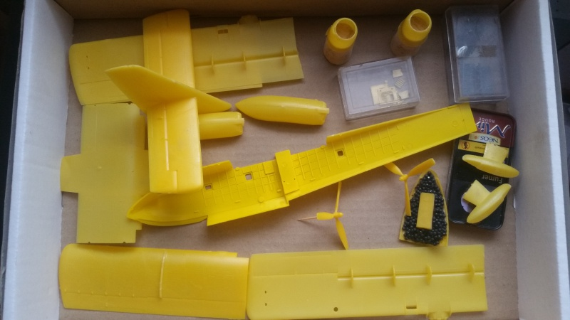 CANADAIR CL-215 maquette HELLER au 1/72° ameliorations NHDetail, scale aircraft conversions & Syhart 87003720180102125629