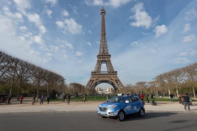 Hyundai Motor franchit un pas de plus avec la flotte de taxis à pile à combustible de Paris 872307hype