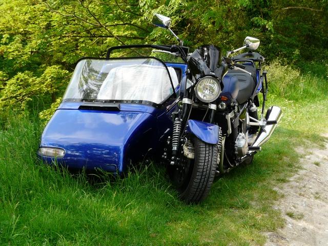 Balade en side-car entre Les Andelye et Gisors(27) 873230010