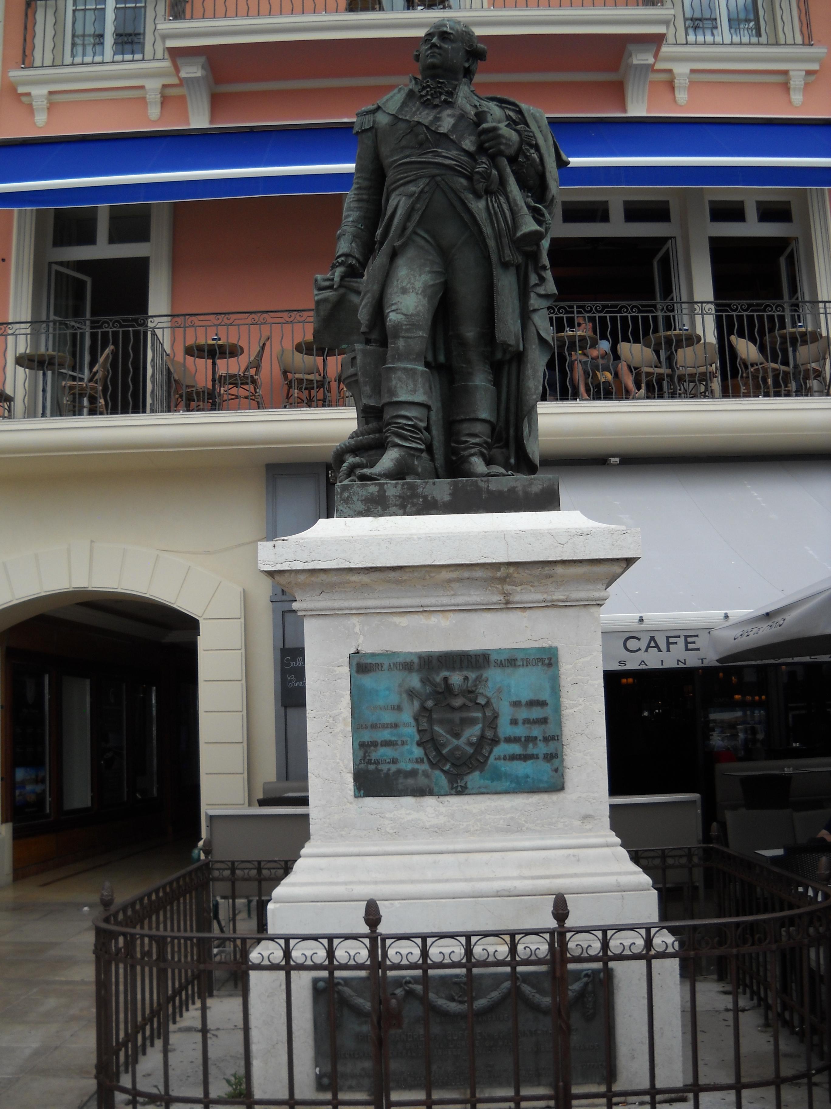 [ Histoire ET histoires ] La Statue du Vice Amiral Pierre André de SUFFREN 875041DSCN0678