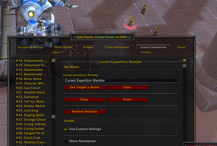 [Le Guide partie 7] Raccourcis / Interface / Macros / Addons 875297Tidy2