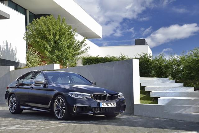 BMW Group au salon de Detroit NAIAS 2017 876305P90244779highResthenewbmwm550ixd
