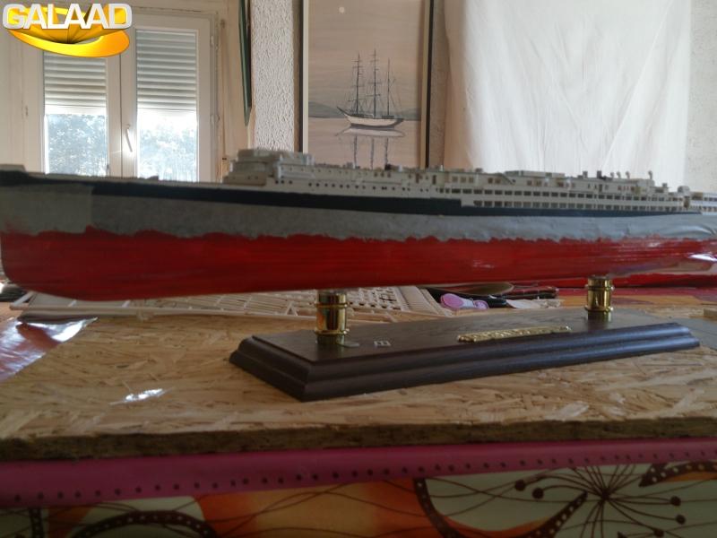 R.M.S Lusitania (Cunard)    1/350 de chez Mr HOBBY 8780459255