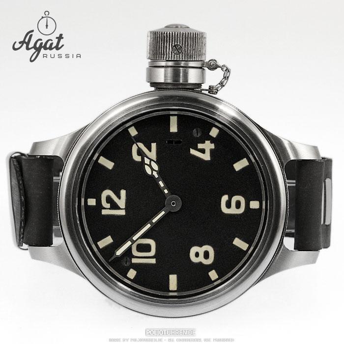 Les montres de Youri. 878766AGATZLATOUSTD070001