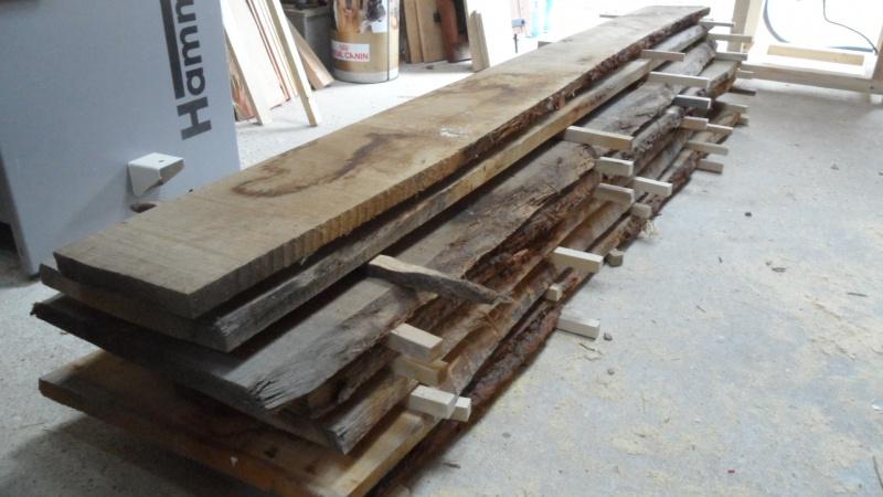 Création d'un meuble en chêne pour le salon 879427SAM1561