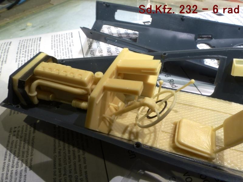 Sd.Kfz. 232 6 Rad - France 1940 - Italeri 1/35 879455P1030907