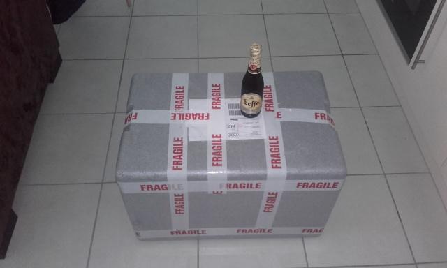 Unboxing d'une commande Grébil. 88323820171013124011