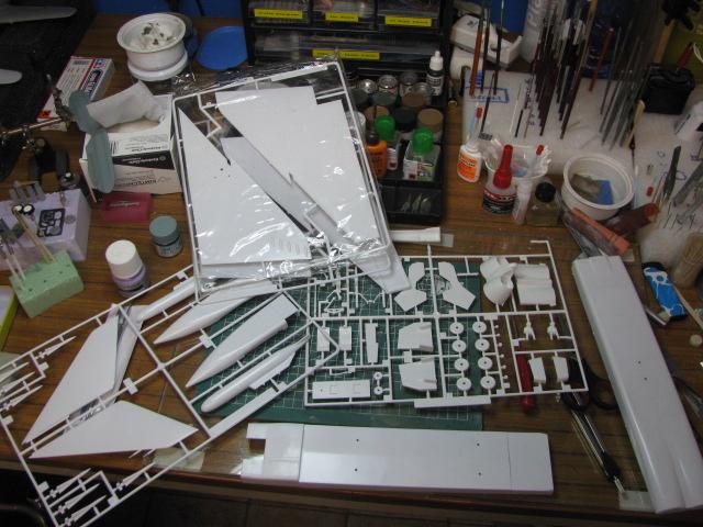 Avro Arrow CF-105 1/48 Hobbycraft 883445IMG11661