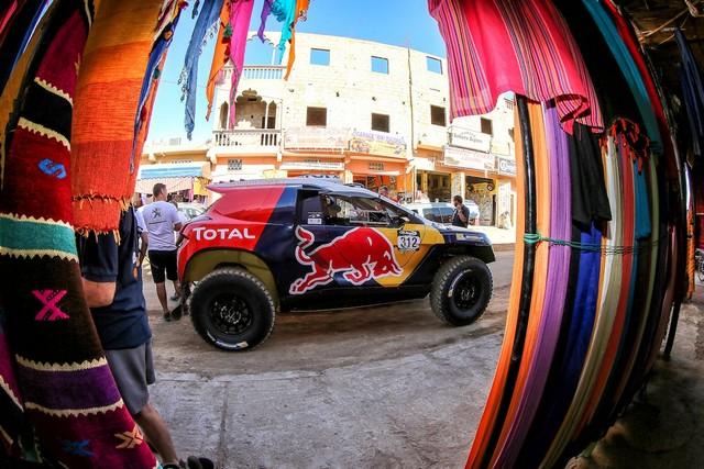 Team Peugeot Total : Rallye du maroc / ETAPE 1 : Boucle de Zagora 883459Dppi05315002012