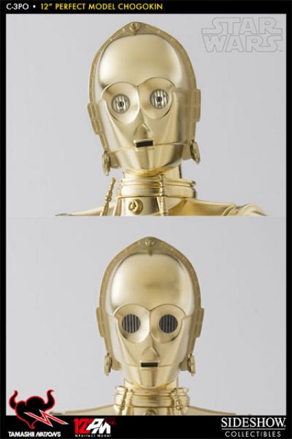 STAR WARS - C3PO - Perfect Model (TAMASHII AND SIDESHOW PERFECT CHOGOKIN) 8847704771